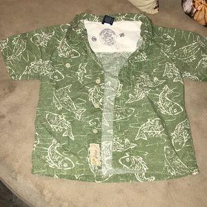 Boy's button up shirt